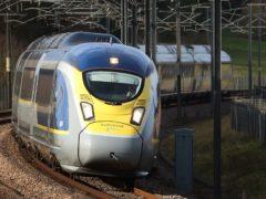 Eurostar said it is seeing a return of people taking weekend breaks (Gareth Fuller/PA)