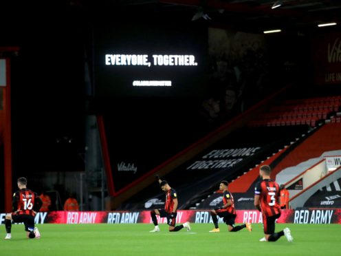 The English Football League has reaffirmed its support to players and staff who wish to take the knee during the forthcoming season (Adam Davy/PA)