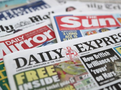 What the papers say – August 15 (PA)