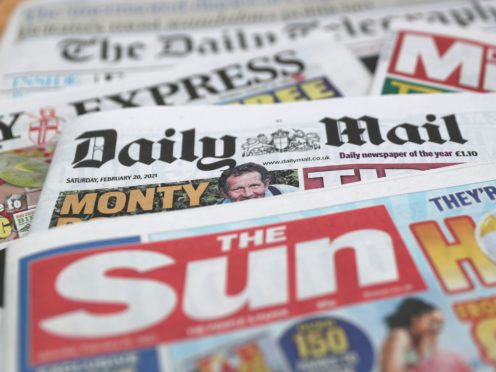 What the papers say – August 29 (PA)