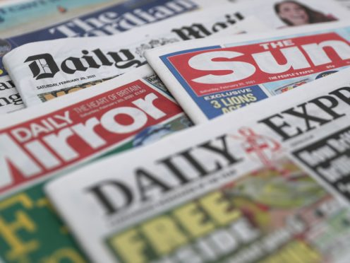 What the papers say – August 1 (PA)