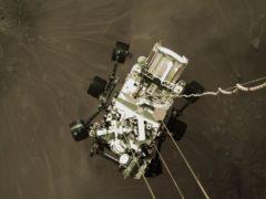 The Mars Perseverance rover (Nasa/PA)