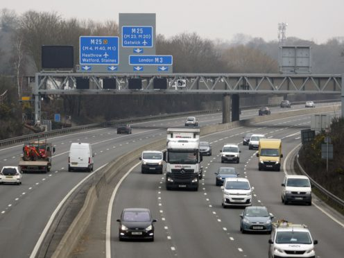 Highways England has announced it is changing its name to National Highways (Steve Parsons/PA)
