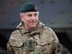 Chief of the Defence Staff, General Sir Nick Carter (Andrew Matthews/PA)