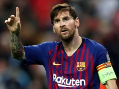 Lionel Messi will leave Barcelona as a free agent (Nick Potts/PA)