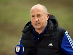 John Coleman saw his strikers score (Nigel French/PA)