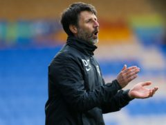 Portsmouth manager Danny Cowley saw his side take the points at Fleetwood (Barrington Coombs/PA)
