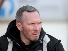 Michael Appleton was pleased to see his side claim a point (Richard Sellers/PA)