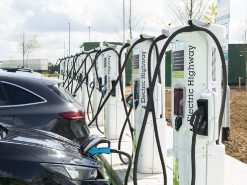 The rise in EVs is causing a lithium shortage (Doug Peters / PA)