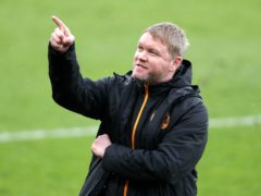 Grant McCann dedicated Hull's opening day win to the Tigers fans (Richard Sellers/PA)