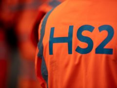 Ministers have been urged by a business organisation to 'put an end to any lingering uncertainty' over HS2 (Jacob King/PA)
