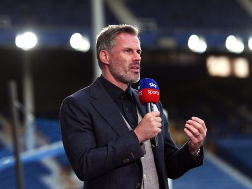 Former Liverpool defender Jamie Carragher believes the team's evolution will provide more chances for youngsters (Peter Powell/NMC Pool)