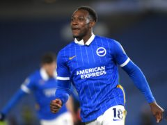 Striker Danny Welbeck is back in contention for Brighton's home game with Everton (Mike Hewitt/PA)