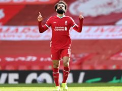Former Liverpool striker Ian Rush believes Mohamed Salah can fulfil his ambitions with an extended stay at the club (Laurence Griffiths/PA)