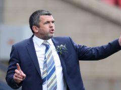St Johnstone manager Callum Davidson (Andrew Milligan/PA)