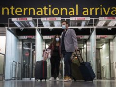 Travel has been severely restricted over the last year. (Kirsty O'Connor/PA)