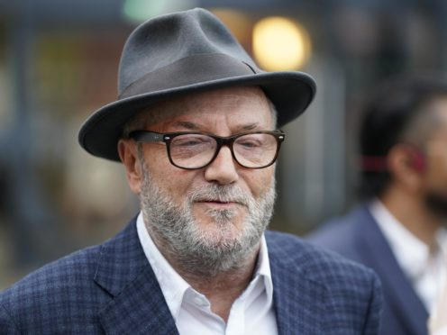 George Galloway insists he can still challenge the Batley and Spen by-election result (Danny Lawson/PA)