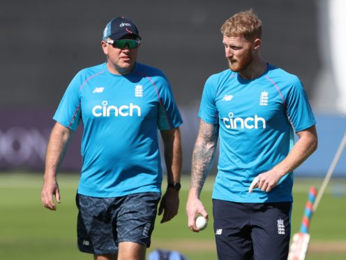 Chris Silverwood will not rush for Ben Stokes to get back in England colours until the all-rounder is ready (David Davies/PA)