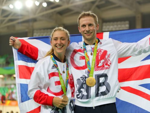 Laura and Jason Kenny have won 13 Olympic medals between them (David Davies/PA)