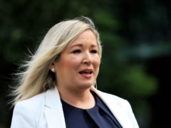 Deputy First Minister Michelle O'Neill is currently self-isolating after she contracted Covid (Peter Morrison/PA)