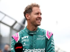 Aston Martin will appeal Sebastian Vettel's disqualification (Bradley Collyer/PA)