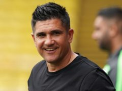 Watford boss Xisco Munoz, pictured, has been praised by Brighton counterpart Graham Potter (Yui Mok/PA)