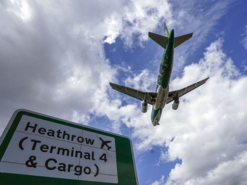 Changes to the travel lists in England come into force this week (Steve Parsons/PA)