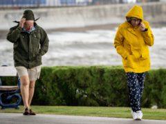 The Met Office has warned of more rain this weekend (PA)