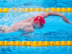 Duncan Scott helped Great Britain take silver (Adam Davy/PA)