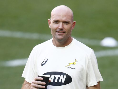 """Jacques Nienaber, pictured, has hailed the """"creativity"""" of his South Africa players (Steve Haag/PA)"""