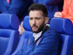 Carlos Corberan's Huddersfield edged Preston (Zac Goodwin/PA)