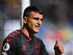 Mohamed Elyounoussi scored a hat-trick as Southampton thrashed Newport 8-0 in the Carabao Cup (Simon Galloway/PA)