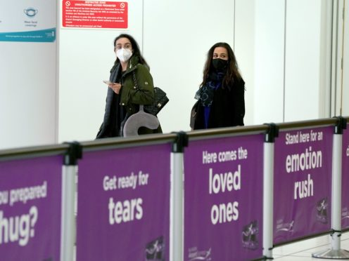 Restrictions are set to ease in Scotland from next Monday (Andrew Milligan/PA)
