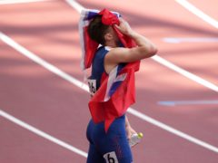 Karsten Warholm won the 400 metres hurdles (Joe Giddens/PA)