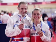 Laura and Jason Kenny won silver medals in Tokyo on Tuesday (Danny Lawson/PA)