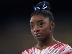 Simone Biles says she is glad to be home in Houston following her dramatic Tokyo Olympics (Mike Egerton/PA)