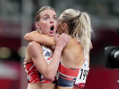Keely Hodgkinson secured silver for Team GB (Martin Rickett/PA)