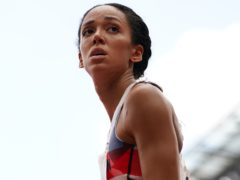 Katarina Johnson-Thompson pulled up injured (Martin Rickett/PA)