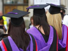 The number of school leavers applying to study medicine and dentistry has increased by a fifth this year compared to last (Chris Ison/PA)