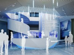 Artist's impression of the improved interior of Discovery Point heritage museum in Dundee (AIM Design/PA)
