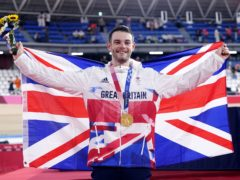 Great Britain's Matt Walls won gold in the men's omnium (Danny Lawson/PA)