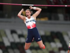 Great Britain's Holly Bradshaw claimed bronze in the pole vault (Martin Rickett/PA)