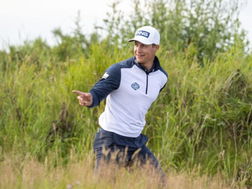 Scotland's Calum Hill claimed a one-shot lead in the Hero Open at Fairmont St Andrews (Ian Rutherford/PA)