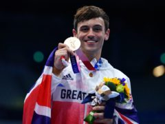 Tom Daley now has four Olympic medals (Adam Davy/PA)