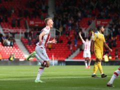 Sam Surridge (left) made a goalscoring start to his Stoke career (Barrington Coombs/PA)