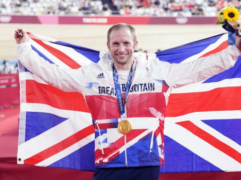 Jason Kenny has become Britain's most successful Olympic athlete by taking out the men's keirin final at the Tokyo Games (Danny Lawson/PA)
