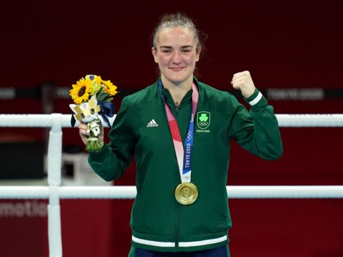 Kellie Harrington was crowned champion in the women's lightweight category (Adam Davy/PA)