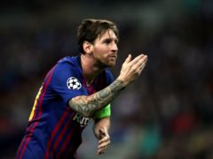 Lionel Messi will not be rushed into action following his signing by Paris St Germain, according to manager Mauricio Pochettino (Nick Potts/PA Images).
