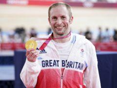 Jason Kenny won gold in Tokyo (Danny Lawson/PA)
