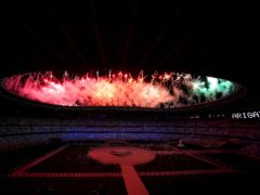 A view of fireworks during the closing ceremony of the Tokyo 2020 Olympic Games at the Olympic stadium in Japan. Picture date: Sunday August 8, 2021.